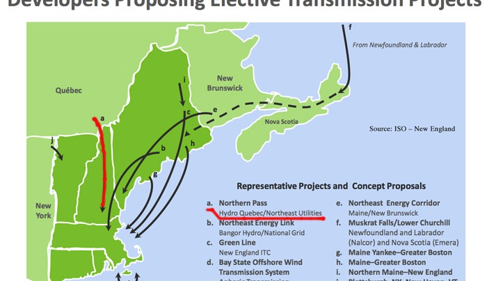 Energy Transmission In The United States Projects Overview How - Us iso map